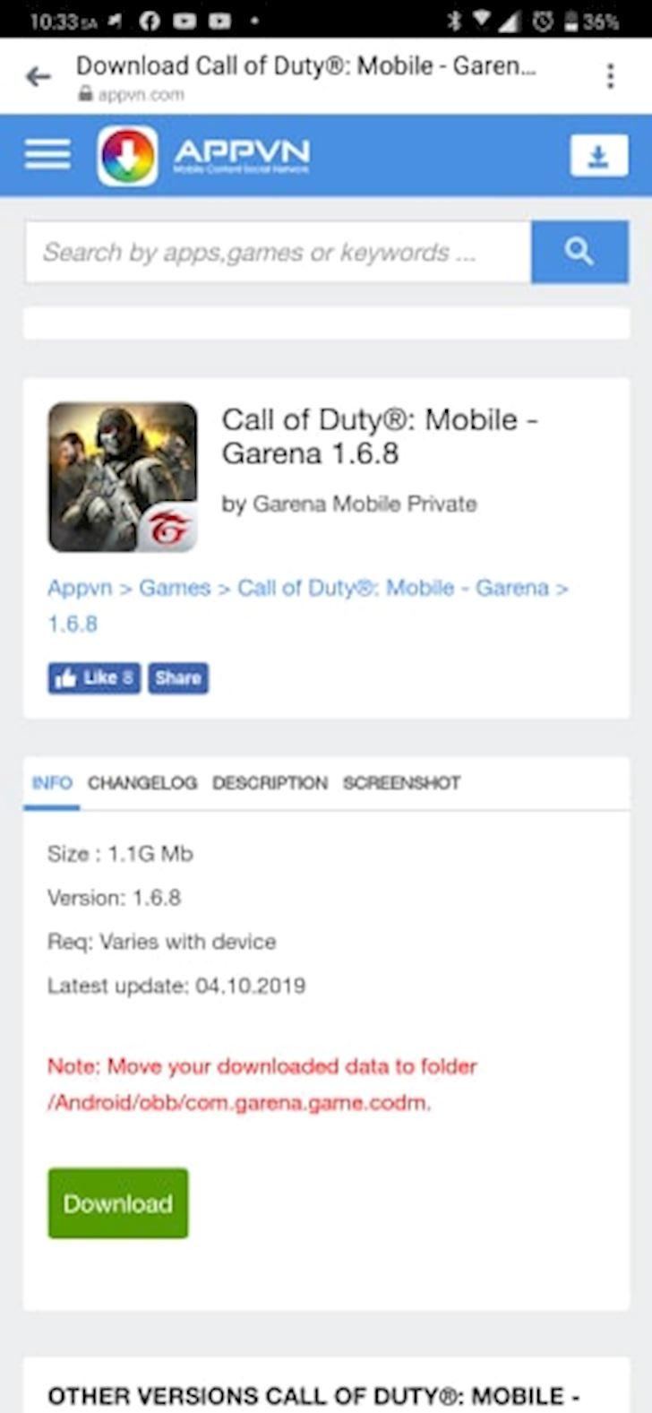Huong dan tai game va gia lap Call of Duty Mobile