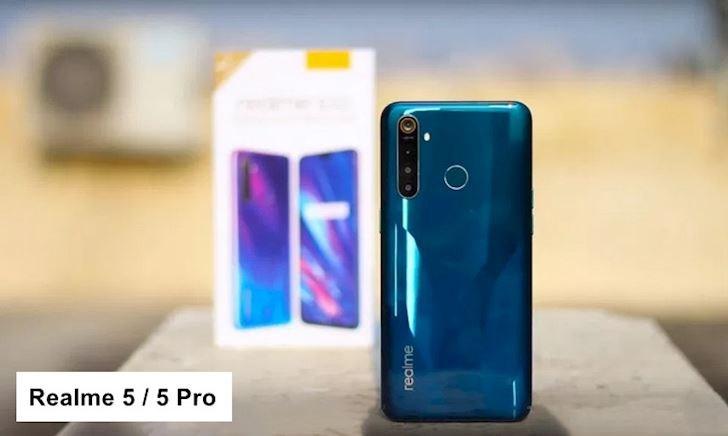 Realme 5 / 5 Pro ra mắt: Thiết kế trẻ trung, 4 camera, pin trâu, giá rẻ