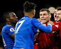 Hé lộ nguyên nhân cầu thủ Liverpool và Leicester đánh nhau vào cuối trận