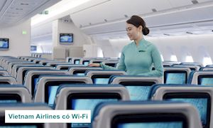 Vietnam Airlines cung cấp Wi-Fi trên máy bay, bước tiến đáng hoan nghênh