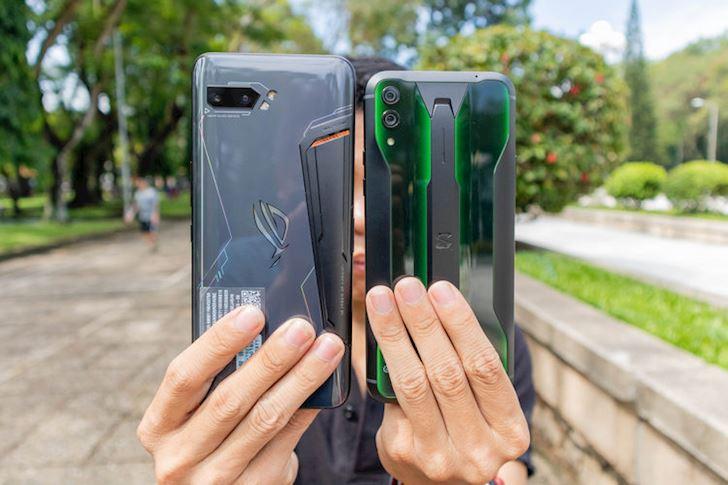 Asus ROG Phone 2 vs Black Shark 2 Pro Toc do tai ung dung 1