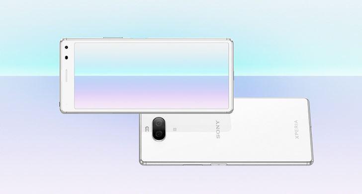 Sony Xperia 8 ra mat May tam trung Co chong nuoc Khong the mua 1