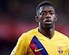 Ousmane Dembele lại khiến lãnh đạo Barca tức điên