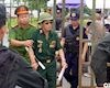 Video clip: Tự xưng thương binh, tấn công VFF đòi vé trận Việt Nam đấu Malaysia