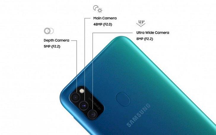 Samsung Galaxy M30s ra mat Viet Nam Pin den 6 000mAh 1