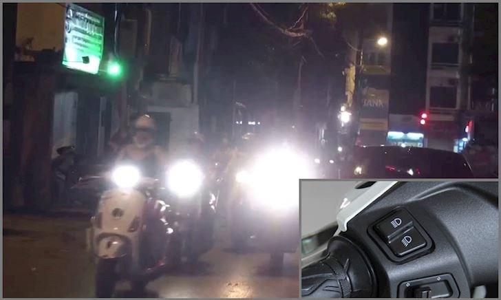 Đèn pha xe máy: tại sao còn nhiều lầm lẫn?