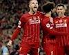 Bảng xếp hạng Ngoại hạng Anh vòng 12: Không thể cản Liverpool