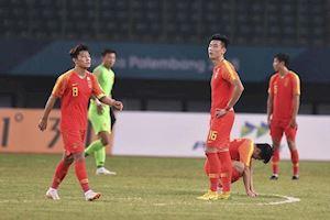 Bóng đá Trung Quốc lập kỷ lục tệ chưa từng thấy trong lịch sử