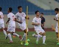 Video clip: Công Phượng, Văn Hậu đua tốc độ với đồng đội trước ngày đấu UAE