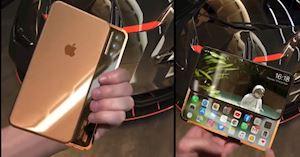 Dân mạng xuýt xoa với concept iPhone trượt không thể nào tuyệt vời hơn nữa