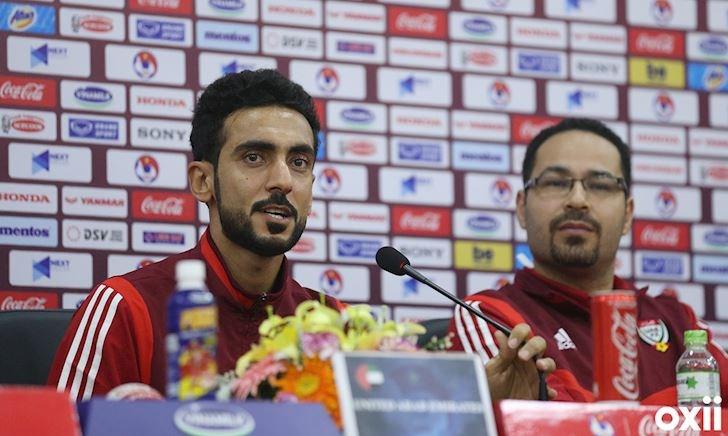 Video clip - cầu thủ UAE: 'Chúng tôi sẽ thắng, chúc Việt Nam may mắn!'