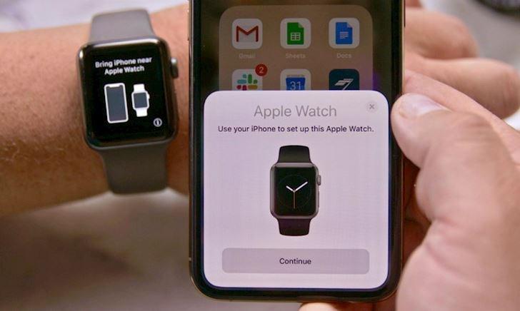 Cách ghép đôi Apple Watch với iPhone mới để không mất dữ liệu