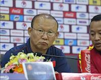 HLV Park Hang-seo: 'Gặp Thái Lan mới là trận lớn nhất năm nay'