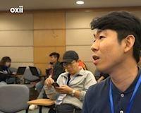 Video clip: Phóng viên Hàn đẹp trai như Son Heung-min hỏi khó thầy Park