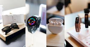 Sau tuyên bố đầu tư 1 tỷ USD vào kho ứng dụng, Huawei còn tổ chức triển lãm hệ sinh thái thiết bị đeo lớn của mình