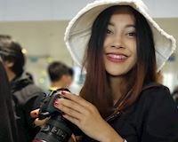 Video clip: Nữ phóng viên xinh như hoa hậu tự tin Thái Lan thắng Việt Nam