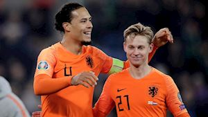 Vòng loại EURO 2020: Van Dijk giúp Hà Lan giật vé, Kroos rực sáng với cú đúp