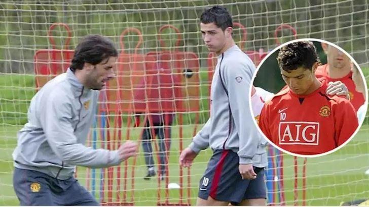 TIET LO: Van Nistelrooy roi MU vi lam Ronaldo khoc anh 1