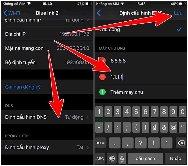 cach doi dns iphone ios 12 ios 13 de truy cap mang nhanh hon 3