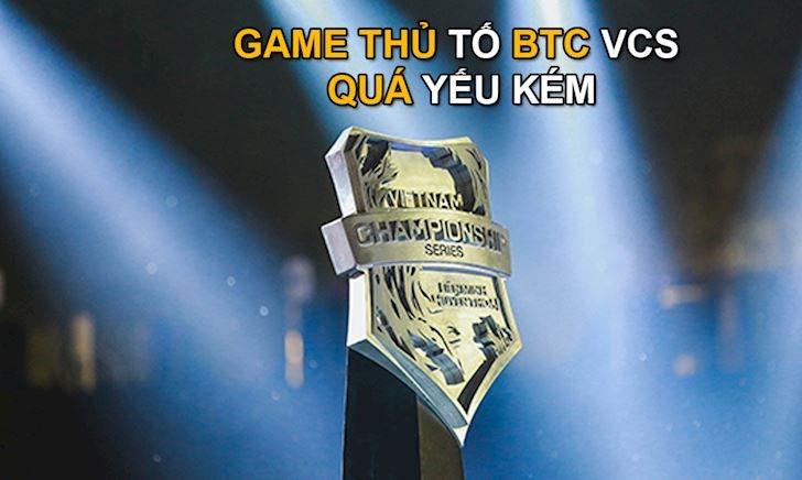 Ban tổ chức VCS tiếp tục bị đại diện LMHT Hà Nội bóc phốt trong khâu tổ chức