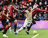 MU thua Bournemouth do trọng tài không thổi penalty cho Martial