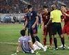 Duy Mạnh 'cực gắt' cho rằng Kawin ăn vạ giúp Thái Lan tránh bàn thua