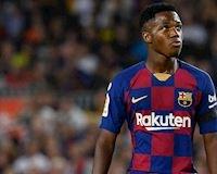 Hết vận đỏ, Fati bị đẩy xuống đội B Barca