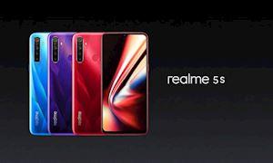 Realme 5s ra mắt: Máy tầm trung, siêu bá đạo cấu hình, giá rẻ