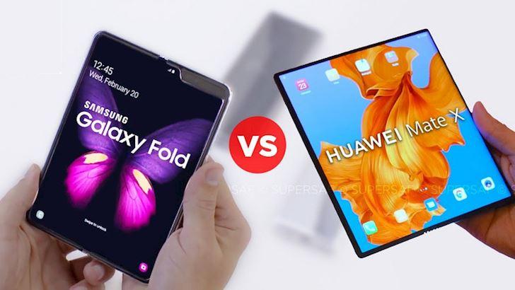 Gia thay man hinh Huawei Mate X cao ngat nguong 2