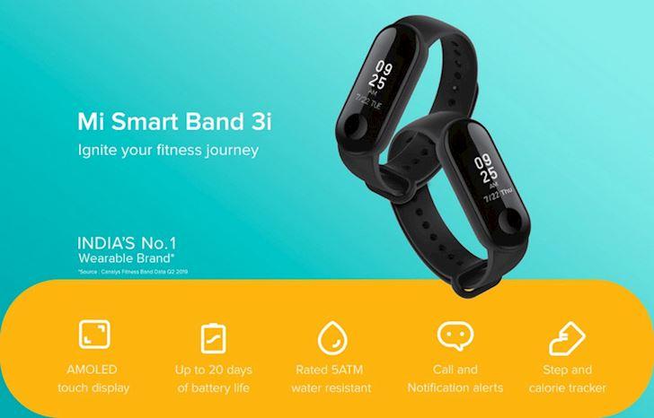 Xiaomi Mi Band 3i vua ra mat tai An Do co gi 2
