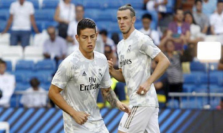 Bale và James không thèm xem hết trận đấu khốn khổ của Real