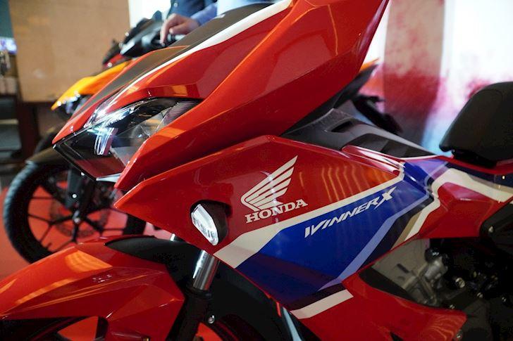 Honda Winner X 2020 ra mat phien ban duong dua tang gia ban 2