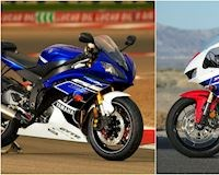 Yamaha R6 và Honda CBR600RR: Cuộc chiến của những sport bike bất kham