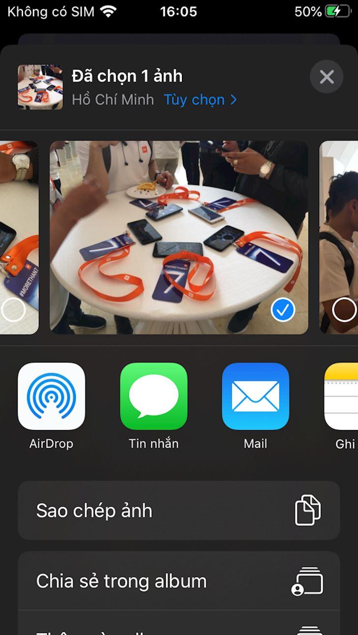 Cach bat Airdrop tren iPhone X khong duoc khong an tien 5