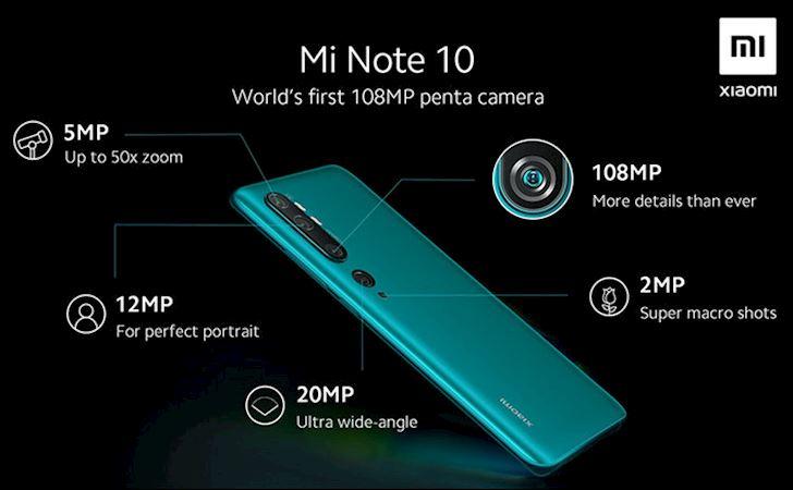 Xiaomi CC9 Pro ra mat Camera 108MP pin khung gia tu 9 3 trieu dong 4