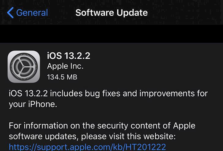 Moi tai ve iOS 13 2 2 Sua loi da nhiem cai thien hieu nang 1