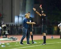Tại sao thầy Park lại phải nhận thẻ đỏ trong trận đấu hôm qua?