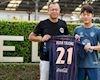 Xuân Trường mặc áo số 21 tại đội bóng nhà giàu Thái Lan