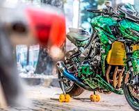 Những bản Kawasaki Z1000 độ cực ngầu