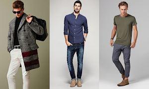 5 kiểu quần không bao giờ lỗi mốt dành cho nam giới