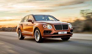 Siêu phẩm Bentley Bentayga Speed đòi lại ngôi vị SUV nhanh nhất thế giới