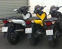 Bộ sưu tập Honda SH giá tiền tỷ với biển số đẹp