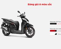 Những mẫu xe máy Honda đang bán tại Việt Nam