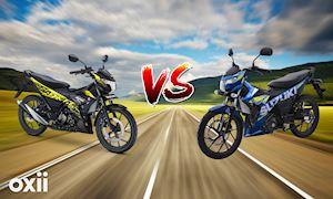 Suzuki Raider và Satria, giống nhau 99% chọn xe nhập hay lắp ráp trong nước?