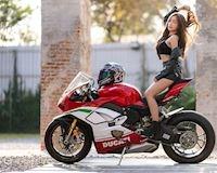 Vòng 1 nghẹ thở cùng siêu phẩm Ducati Panigale