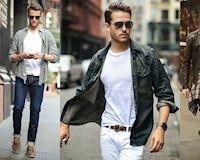 Những kiểu kết hợp áo thun với áo khoác mà nam giới nên biết
