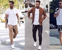 5 cách phối áo thun trắng đơn giản đàn ông nên biết