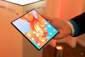 Huawei giáng đòn đánh nặng ký vào Samsung Galaxy Fold khi trình làng Mate X