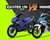 Yamaha Exciter 150 có đủ sức đánh bại Honda Winner?