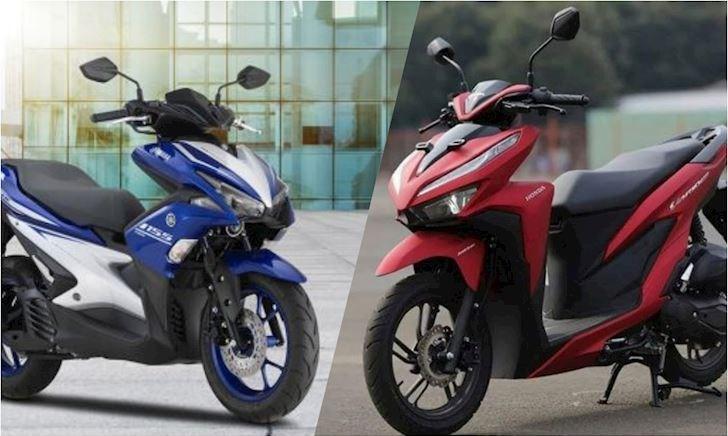 Xe tay ga giá 60 triệu, mua Yamaha NVX 155 hay Honda Vario 150?